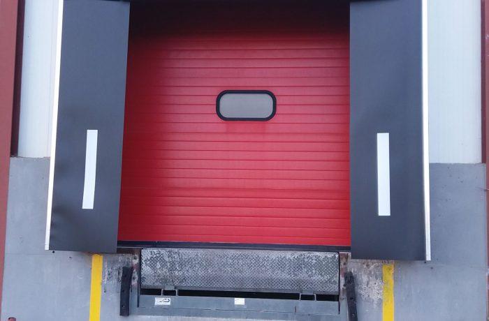 Abrigos y puertas seccionales
